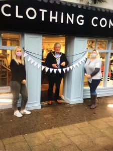 Opening of Crew Clothing Marlow High Street