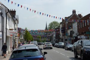 Bunting marks reopening of Marlow shops