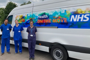 Health on the Move van back on the road in Bucks to deliver more COVID vaccines