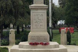 Marlow's War Memorial Restored